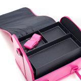 Saco cosmético Handheld das mulheres do plutônio