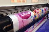 Stampante di alta risoluzione di ampio formato Sinocolorsj-1260, stampante solvibile Dx7, stampante di Eco del getto di inchiostro del tracciatore della stampante del Eco-Solvente