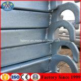 Andamio usado andamio flexible galvanizado del marco de acero Q235 para la venta
