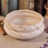 Grande cuvette en céramique de marbre de bougie pour la vente en gros