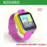 androides videoaufruf 3G GPS-Kind, das Uhr mit PAS-Warnung aufspürt