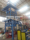 HDPE / LLDPE / HDPE de alta velocidad máquina de soplado de película