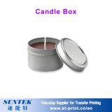 Spazio in bianco all'ingrosso di sublimazione che Wedding la piccola casella di ceramica della candela del supporto di candela