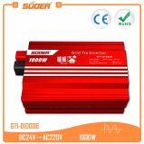 Inverseur solaire d'alimentation AC de C.C de Suoer 1000W 24V 220V (GTI-D1000B)