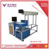 Metal da máquina da marcação do laser e não metal