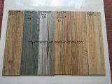 Azulejo de suelo de madera de cerámica de la venta caliente