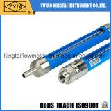 Contador de flujo del gas natural del tubo de cristal