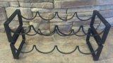 Cremagliera di memoria del vino della cremagliera del vino della bottiglia della cremagliera di visualizzazione del vino della cremagliera del nastro metallico della cremagliera di vetro di vino della cremagliera del vino della parete della cremagliera del vino singola