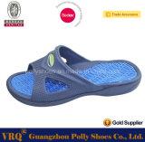 Zapato cómodo de la playa de la ducha de la diapositiva de los hombres del deslizador de goma de la sandalia