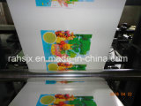 Machine d'impression flexographique de couleurs du film plastique 4