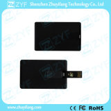 Изготовленный на заказ привод USB карточки 16GB названия фирмы черноты логоса (ZYF1832)