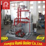 Zusammengebauter Wasser-Gefäß-elektrischer Heizöl-Dampfkessel