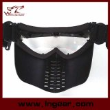 PROschutzbrille-volle Gesichtsmaske mit Ventilator-Ventilations-Schablonen-Typen B