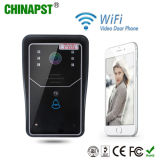 Telefono del portello di WiFi del citofono del IP senza fili più caldo del campanello per porte 2017 video (Pst-WiFi001A)