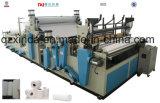 Tecido automático de toalha de cozinha do rebobinamento que faz a máquina