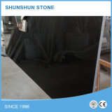 Dalle de granit noir poli absolu pour comptoir / Tombstone / Step Stair