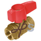 CSA Brass Gas Ball Valve avec Butterfly Handle