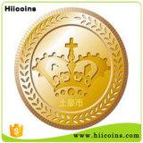 Пробел не чеканит оптом никакие золото монеток MOQ и серебряные монеты таможни античные