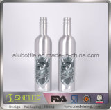 Алюминиевая бутылка для масел автомобиля без покрытия