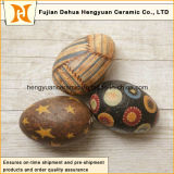 Ovos de Easter cerâmicos coloridos