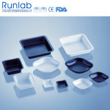 7ml Square Black Weighing Boat