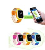 Traqueur futé de montre de GPS pour des enfants avec GSM+GPS