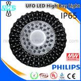 Indicatore luminoso popolare di Troffer della baia del UFO LED di alta qualità IP65 alto