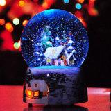 Kid를 위한 2015년 크리스마스 Gift LED Crystal Music Ball