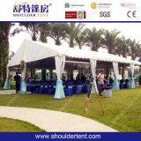 Bella piccola tenda bianca di cerimonia nuziale