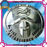 Moneta annunciata del metallo 3D per il regalo