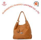 Signora di cuoio Handbag (GUS14D-100-2) dell'unità di elaborazione di nuovo modo di disegno