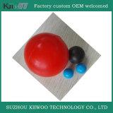 Il fornitore colorato ha personalizzato tutta la sfera di gomma modellata formati