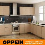 Proyecto Classic Nogal melamina gabinete de cocina (OP14-M07)