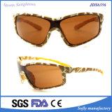 Gafas de sol de gran tamaño del marco de la PC de la fuente de China para ejecutarse de ciclo