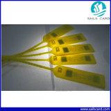 재고목록을%s ISO18000-6c UHF Zip 동점 물개 수동적인 RFID 꼬리표