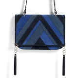 Fornitore di cuoio di ultima signora Across Body Leather Handbag (KITSS-15-28) della borsa 2016