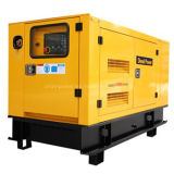 gerador elétrico Soundproof do motor Diesel do dossel de 660kVA Doosan (UDS600)