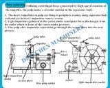 Máquina de la fabricación de papel de tejido facial del papel usado de las materias primas, pulpa de madera, paja del trigo, bagazo, algodón