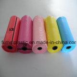 Sacchetto di rifiuti colorato plastica dei sacchetti di immondizia di HDPE/LDPE