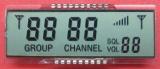 """Pantalla de la pulgada FSTN de la visualización 3.5 del LCD del diente de FSTN """""""