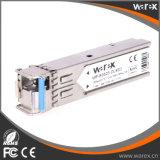 우수한 100Base-BX 1310nm Tx/1550nm Rx 80km SFP BIDI 송수신기