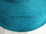 Cappello di paglia fine della treccia di carta di Floopy di grande del bordo stile della spiaggia