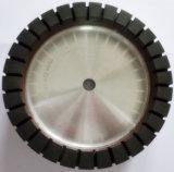 Kinger diamante herramientas de pulido ---- de aluminio placa de resina Whee (completa segmentado) de pulido de cristal