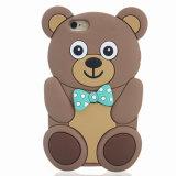 Крышка телефона силикона случая панды шаржа на iPhone 7 7plus LG K7 K10 P8 P9 (XS-16070801)