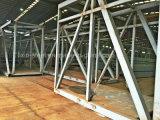 공기 브리지를 위한 안정되어 있는 가벼운 강철 구조물 건축