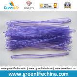 최신 판매 밝은 파란색 2.5X150mm 여행 꼬리표 파트너 PVC 루프