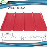 Folha de aço da telhadura do edifício de Yx25-210-840
