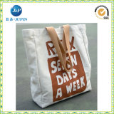 Ecoの友好的なカスタム綿袋の方法平野のキャンバス袋(JP-CB011)