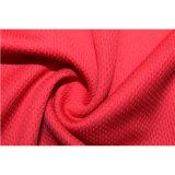 chemise de polo faite sur commande de Mens de qualité de la couleur 100%Polyester rouge