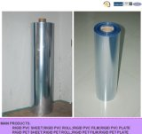 200-250ミクロンの明確なカラープラスチック包装のための堅いPVCロール